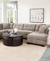 Kenton Fabric 2 Piece Sectional Sofa by Outstanding Elliot Fabric Sectional Sofa Collection Sectionals Furniture With Regard To Sofas At Macys Attractive Jpg