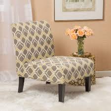 Kalee Yellow And Grey Print Fabric Dining Chair | EBay