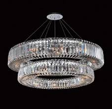 Wonderful Chandelier Contemporary Modern Chandeliers For Dining Room Round Crystal Eith Detail And