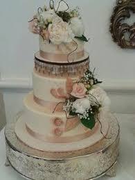 Rustic Vintage Wedding Cake 2 Nice Sliceamazing