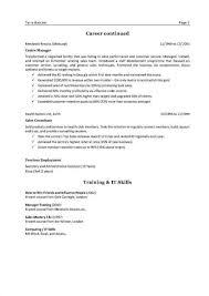 Resume References Templates