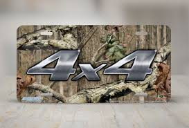 Airstrike® Mossy Oak License Plate 8032-