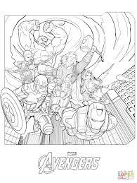 Click The Marvel Avengers Coloring Pages