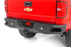 Heavy-Duty Rear LED Bumper For 07-18 Chevy 1500 [10773] | Rough ... Steelcraft Hd10440 Front Bumper Chevy Silverado 23500 52018 Chevrolet Gets New Look For 2019 And Lots Of Steel Aftermarket Truck Bumpers Beautiful Go Rhino Hammerhead 2008 Lowprofile Full Width Black Models Winch Ready 2017 2500 3500 Hd Payload Towing Specs How Fab Fours Vengeance Series Giveaway Designs Of 2014 52017 Signature Heavy Duty Base Custom Carviewsandreleasedatecom Ranch Hand Sbc08hblsl 072013 1500 Sport Rear Front Winch Bumper Fits Chevygmc K5 Blazer Trucks 731991