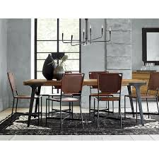 Crate And Barrel Denley Floor Lamp by Marlow Ii Black Side Chair In Dining Chairs Crate And Barrel