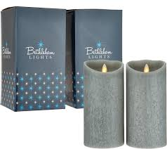 Qvc Bethlehem Lights Christmas Tree Recall by Bethlehem Lights Touch Candle Set Of 2 7