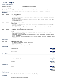 Call Center Resume: Sample And Complete Guide [+20 Examples] Useful Entry Level Resume Samples 2019 Example Accounting Part Time Job Cover Letter Samples College Student Sample Writing Tips Genius Customer Service Template 2017 Of Stylish Rumes Creative Idea Executive Professional Janitor Best