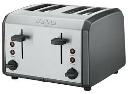 Blue Toaster Pro 4 Slice Black Stainless Steel Navy 2