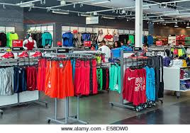 Nike Outlet Nj by Nike Factory Outlet Atlantic City New Jersey Usa Stock