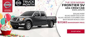 Deery Nissan Dubuque | New & Used Car Dealer In Dubuque, Iowa Nissan Of Greenville A New Used Vehicle Dealer 2018 Titan Fullsize Pickup Truck With V8 Engine Usa And Cars Near Pomona Ontario Ca Metro 2013 Frontier 2wd Crew Cab Sv At Landers Serving Little 1995 Overview Cargurus 2016 Reviews Rating Motor Trend Riverside San Bernardino Inland Empire Heritage Collection Tama Gasoline I Search Costa Rica 1998 Busco Ud Para Desarme Reveals Rugged Nimble Navara Nguard But Wont How To Get Your Ready For Spring Summer Martin