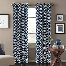 Sound Deadening Curtains Bed Bath And Beyond by Morocco Window Curtain Panel Bed Bath U0026 Beyond