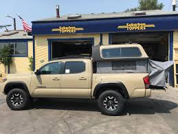 F150 Bed Tent by 16 Tacoma Overland Topper Ez Lift Suburban Toppers