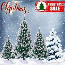 4ft Christmas Tree Sale by White Christmas Tree Snow Flocked Unlit Artificial 4 Feet 231 Pvc