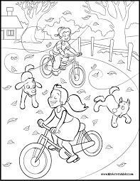 Coloring Book Maker A Park To Color ParkPrintable Pages Free Download