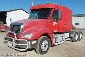 100 Jackson Truck And Trailer 2006 Freightliner Columbia Semi Truck Item DD2383 SOLD