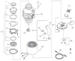 Insinkerator Sink Top Switch Manual by Repair Parts For Insinkerator Badger 1 And Badger 5 Garbage Disposers