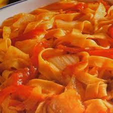 fenouil cuisiner tagliatelles à la tomate au fenouil et au poivron cuisine