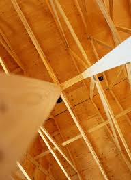 Vaulted Ceiling Joist Hangers by How Far Apart Can You Span A Ceiling Joist Hunker