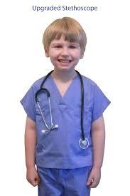 Ceil Blue Scrubs Sets by Childrens Scrub Set W Free Stethoscope Children U0027s Apparel By