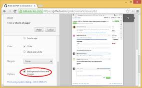 Print To PDF In Chrome Drops Background Images Issue 83 Gnab