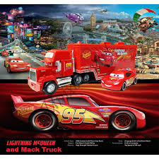Mainan Terlaris!!! Mainan Anak Cars Lightning McQueen And Mack Truck ...