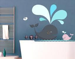 wandtattoo no ek146 happy whales badezimmer design