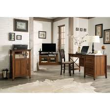 Sauder Beginnings Computer Desk by Sauder Carson Forge Desk Washington Cherry Walmart Com