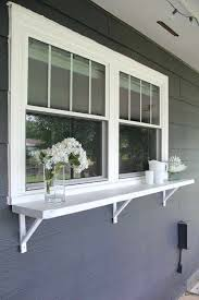 Serving Window Buffet Under Outside From Kitchen To Dining Room