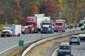 100 Truck Accident Today Traffic Mass Pike Reopens After Crews Clear Truck Crash In Sturbridge