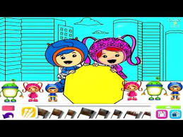 Bubble Guppies Team Umizoomi Dora Coloring Book Draw Play Nick Jr App For Kids