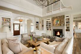 Meriam Hill House Traditional Living Room Boston by Colin