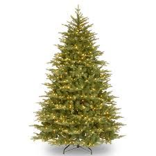 Christmas Trees Unlit 9 Ft by National Tree Company 7 5 Ft Feel Real Norwegian Medium Unlit