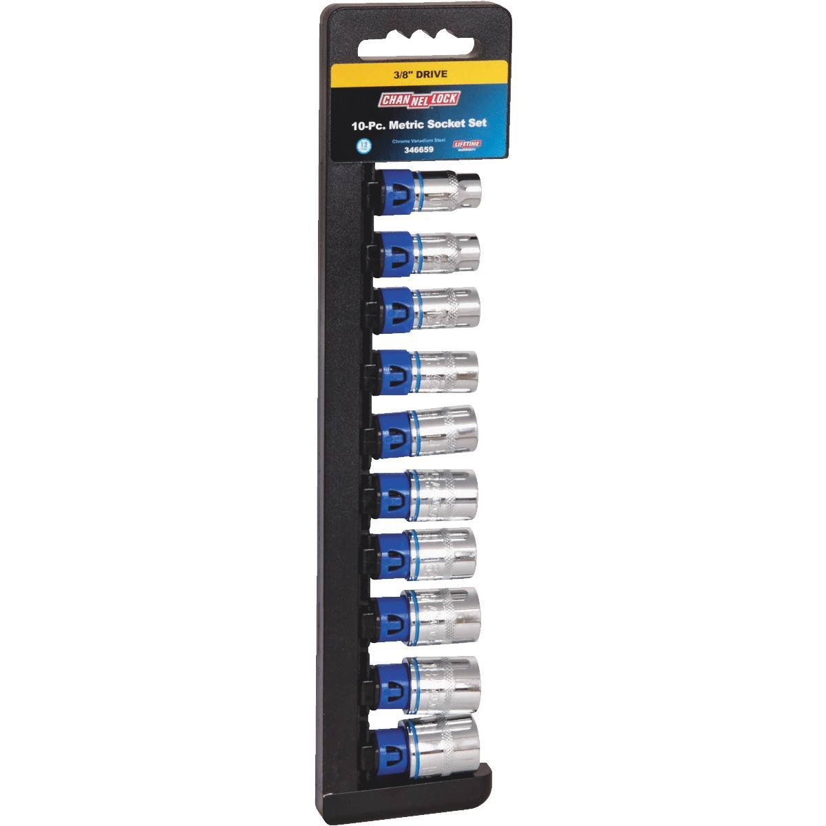 Do it Best Drive Metric Socket Set - 10pcs, 3/8""