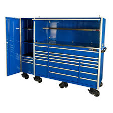 tool vault 72 elite 20 drawer tool cabinet with hutch side
