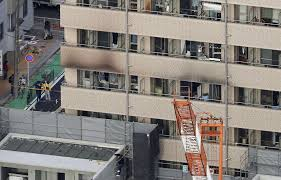 100 Apartment In Yokohama Fire At Lodging House Leaves Two Dead And Eight Injured