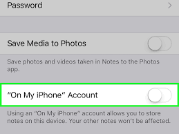 How to Stop Storing iPhone Notes on an iPhone with