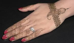 Image Of Simple Henna Designs Step By