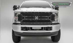 100 Grills For Trucks 20172019 Super Duty XMetal Grille Black 1 Pc Replacement Chrome Studs PN 6715471