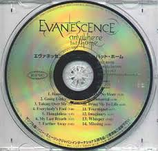 Evanescence Anywhere But Home CD Album at Discogs