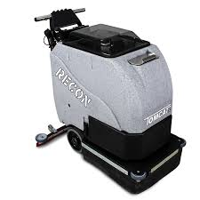 Riding Floor Scrubber Training by Floor Scrubber Dryer Recon Walk Behind Commercial Floor Cleaning