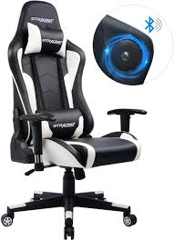 GTRACING Gaming Chair With Speakers Bluetooth Music Racing Chair Audio  Heavy Duty Computer Desk Chair GT890M White Arozzi Milano Gaming Chair Black Best In 2019 Ergonomics Comfort Durability Amazoncom Cirocco Wireless Video With Speaker The X Rocker 5172601 Review Ultimategamechair Pro 200 Sound Enhancement Features 10 Console Chairs Sept Reviews Noblechair Epic Chair El33t Elite V3 Pu Details About With Speakers Game For Adults Kids