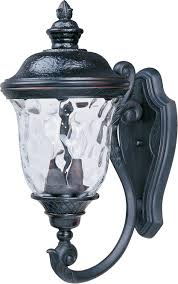 light outdoor wall mount light carriage house lantern dusk to