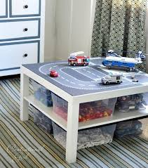Lego Play Table With Storage Idea For Kids