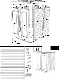 Rubbermaid Large Storage Shed Instructions by Page 2 Of Rubbermaid Outdoor Storage 5l20 User Guide