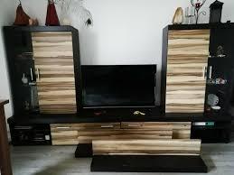wohnwand wohnzimmer anbauwand tv board schrankwand