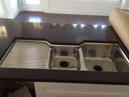 Copper Sinks With Drainboards by Best 25 Double Bowl Sink Ideas On Pinterest Bathroom With