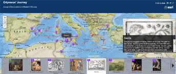 the odyssey in modern maps mania mapping the odyssey