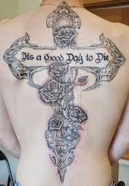 Perfect Cross Tattoos Designs 25