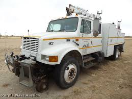 100 Railroad Truck 1998 International 4900 Crew Cab Railroad Service Truck With