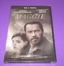 Maggie DVD 2015 Arnold Schwarzenegger NEW SEALED